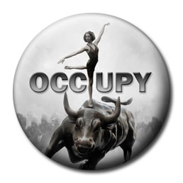 Occupy Wall Street - Bull and Dancer